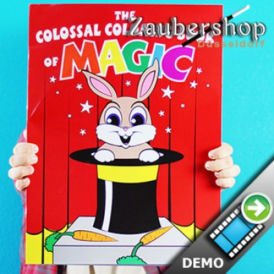 Colossal Magic Coloring Book