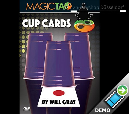 Cup Cards (DVD and Gimmick)
