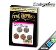 Hopping Half with Expanded Shell Coins & English Penny