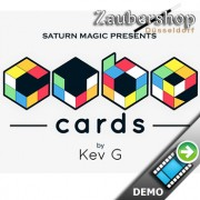 Saturn Magic Presents Cube Cards