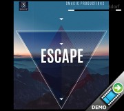 ESCAPE - blau (Gimmicks and Online Instructions)