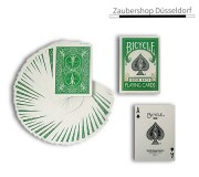 Bicycle Poker Deck - Rückseite grün