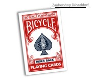 Jumbo Invisible Deck Bicycle (Red)