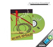 DVD Secrets revealed - Linking Rings - Chinesisches Ringspiel